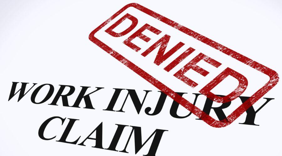 work comp denied