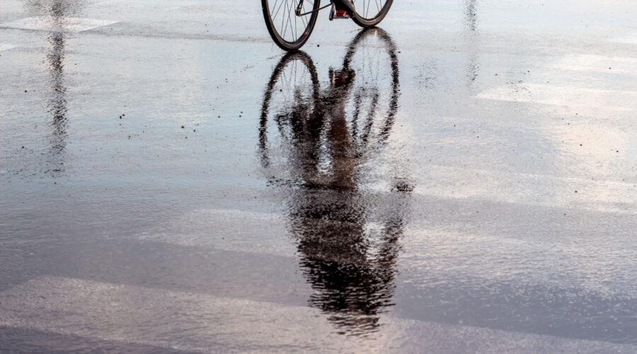 cyclist spring